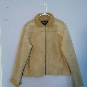 IZOD Tan Sherpa Jacket